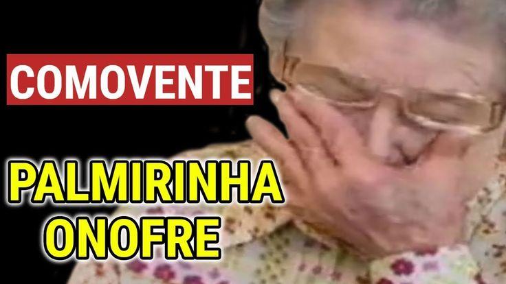 Palmirinha Onofre CHORA em DESABAFO COMOVENTE na TV aos 86 anos