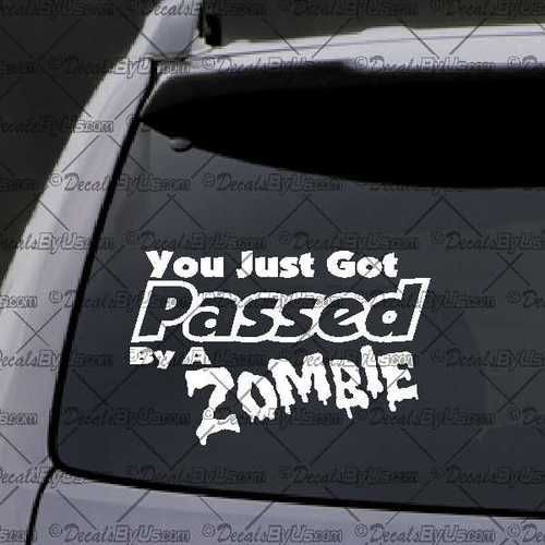 The hottest funny car window decals and humorous stickers
