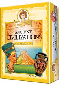 Ancient Civilizations card game for reviewing (& game days!)