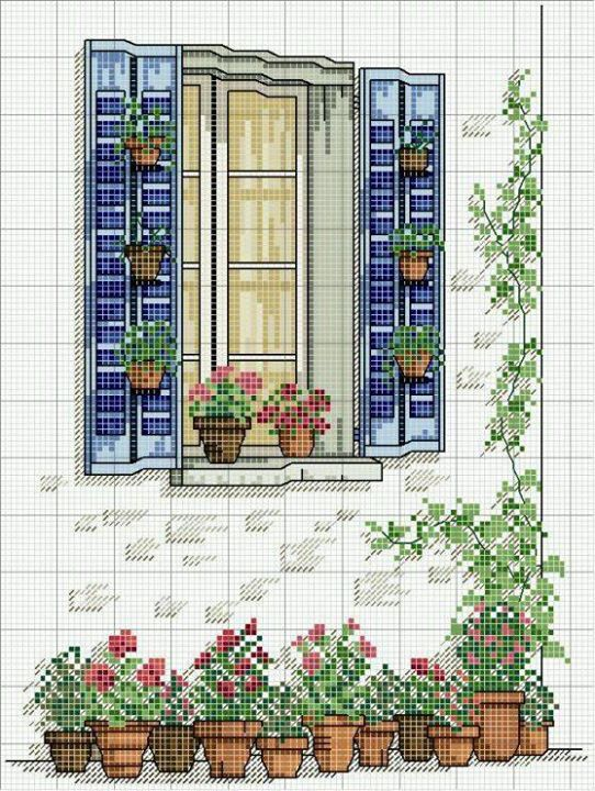 Beautifull cross stitch project!