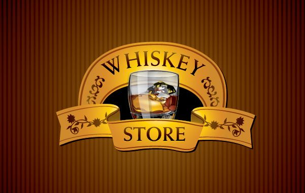 Whisky Store - Free Vector Logo Template
