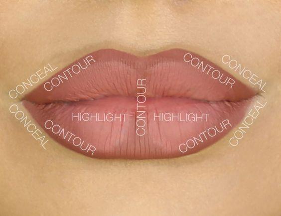 Super Easy! Contorno de labios ,efecto perfecto y sexy