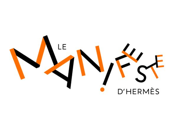 Philippe Apeloig – Logotype for Le Manifeste d'Hermès, 2015