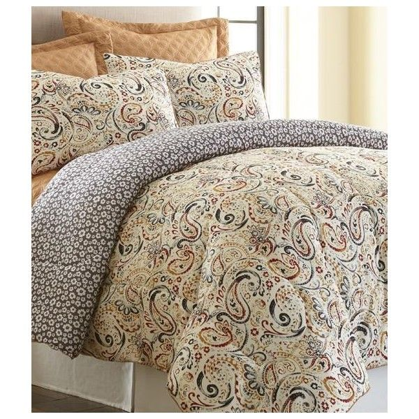 6 piece comforter set mavia king 70 liked on polyvore featuring home bed u0026 bath bedding comforters oversized king size bedding king sham king - Oversized King Comforter