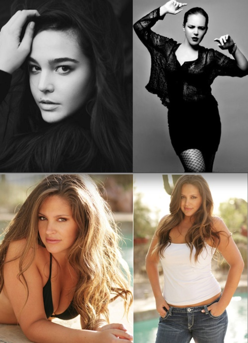 Much love and many congrats to Curve Appeal supporters Lexi Placourakis and Heahter Hazzan for making it on the list of Plus Model Magazines 10 Plus-Size Models On The Rise!!