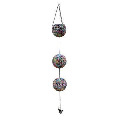 Alpine solar hanging mosaic lanterns set of 3 make your - Make hanging lanterns ...
