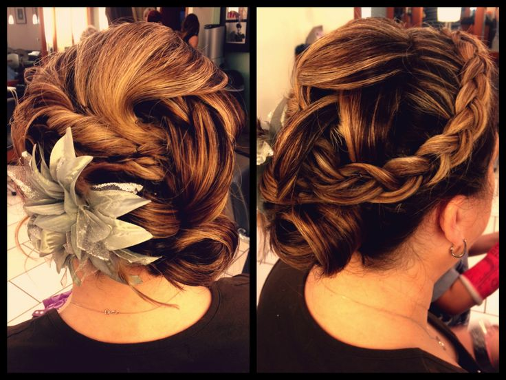 A beautiful style done by Andrea Go this past Saturday, July 13!  #hair #hairstyle #bridalhair #wedding www.donato.ca