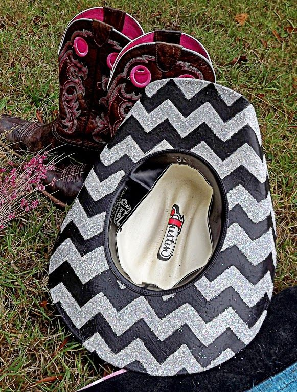 Hand painted custom cowboy hats by KC Customs! Check us out on Facebook at KC Customs!! Made to order so order your today!!!