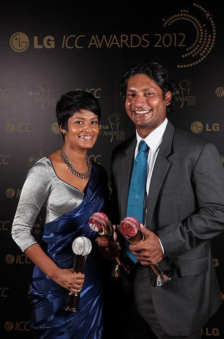 Kumar Sangakkara Amp Yehali Cricketers Wives Amp Girlfrends