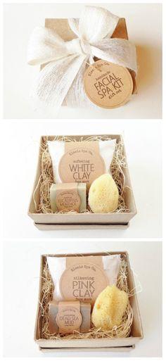 Facial Spa Kit Gift Set 4x4x2 Box 1.2 oz Face Mask by elaeis http://beautifulclearskin.net/arabica-coffee-scrub-from-majestic/