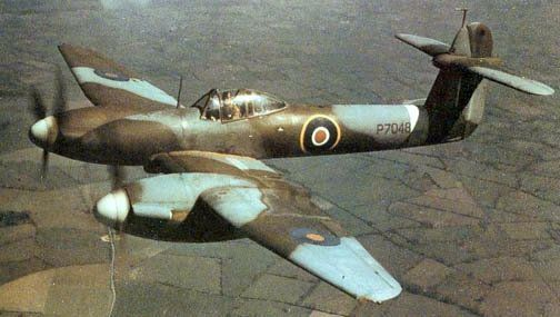 1938 - Royal Air Force (RAF) Westland Whirlwind (Twin-Engined Heavy Fighter)
