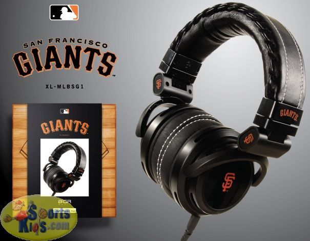 BiGR Audio MLB San Fransico Giants Headphone reproduce the sounds accurately produced by the artist.