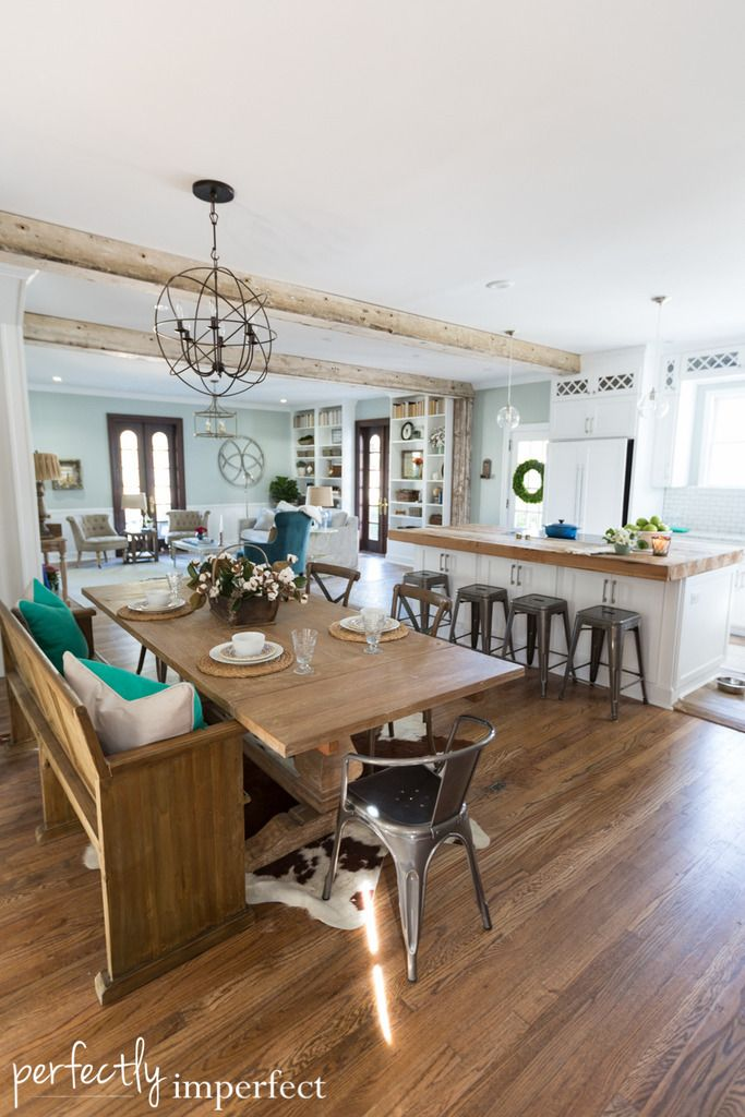 Best 52 Best Farmhouse Dining Images On Pinterest Perfectly 400 x 300