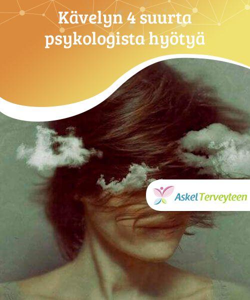 Kävelyn 4 suurta psykologista hyötyä   #Käveleminen auttaa saamaan aivoihisi happea, ja siten mielesi ja #mielikuvituksesi pääsevät #kulkemaan vapaasti.  #Terveellisetelämäntavat