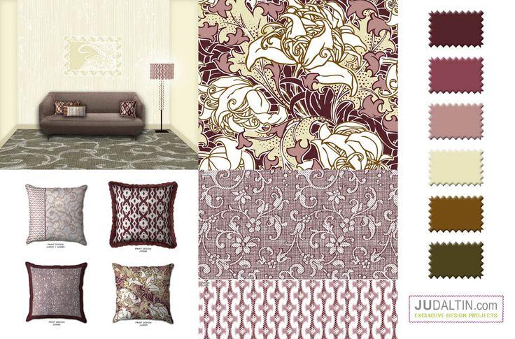 Home prints Pattern cushion