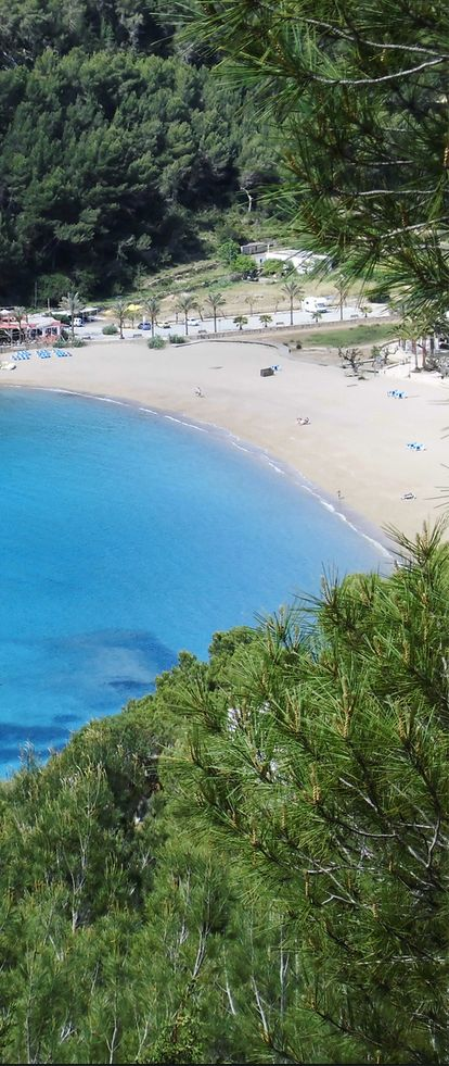 Cala San Vicente, Ibiza, Spain
