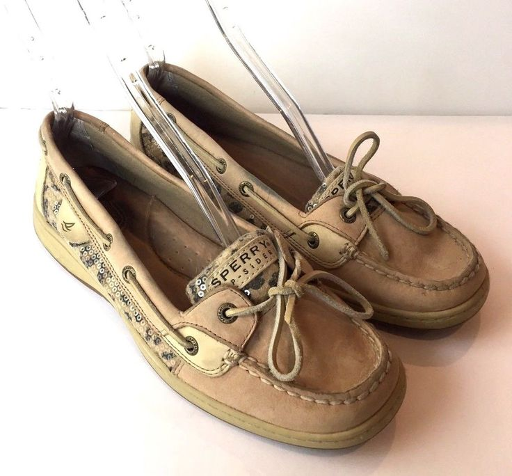 Womens Sperry Top Sider Cheetah Loafers Shoes Size 9.5 Shoes #SperryTopSider #BoatShoes
