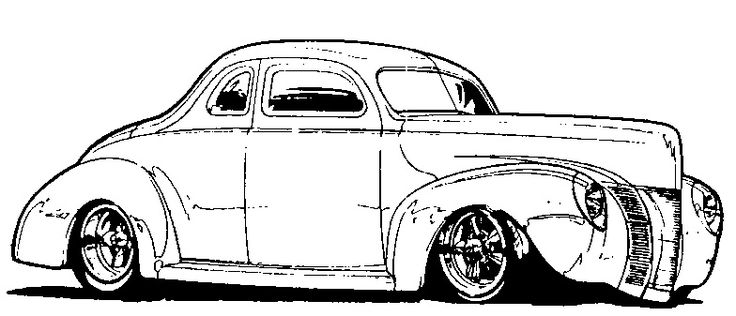 sizeimagephp (520×310) coloring Pinterest Car prints - best of coloring pages antique cars