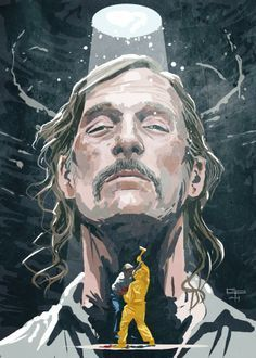 Rust Cohle by German Peralta.