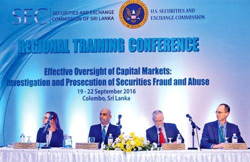 US and Sri Lanka security regulators address securities fraud and abuse - Colombo Page