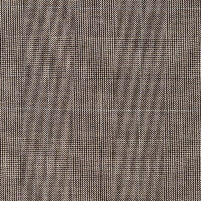 glenurquhart checker. Brown fine stip. Perhaps my favorite fabric for a suit