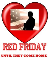Remember Everyone Deployed  We wear red on Fridays at Brigham Group Staffing  http://redshirtfriday.net/