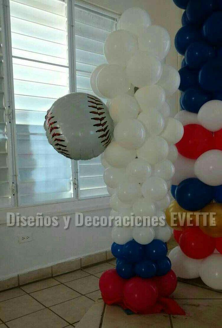 Cumpleaños Pelota Decoraciones Evette Guayama