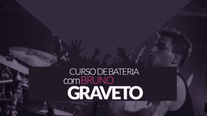 Bruno Graveto Ex Baterista do Charlie Brown Jr e atual baterista da banda STRIKE, lança um #curso de #bateria inédito na internet.