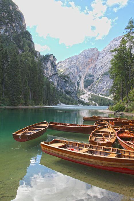 Pragser Wildsee / Lago di Braies, Südtirol / South Tyrol