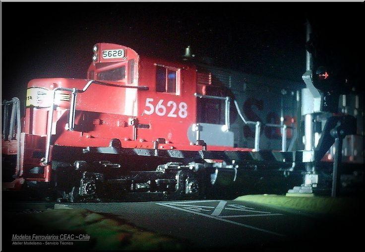 https://flic.kr/p/Tzsx8V | Stop in red signal  //  Pare, mire y escuche | — Ficha Técnica Modelismo: #13385-4028 Modelos Ferroviarios CEAC - Chile