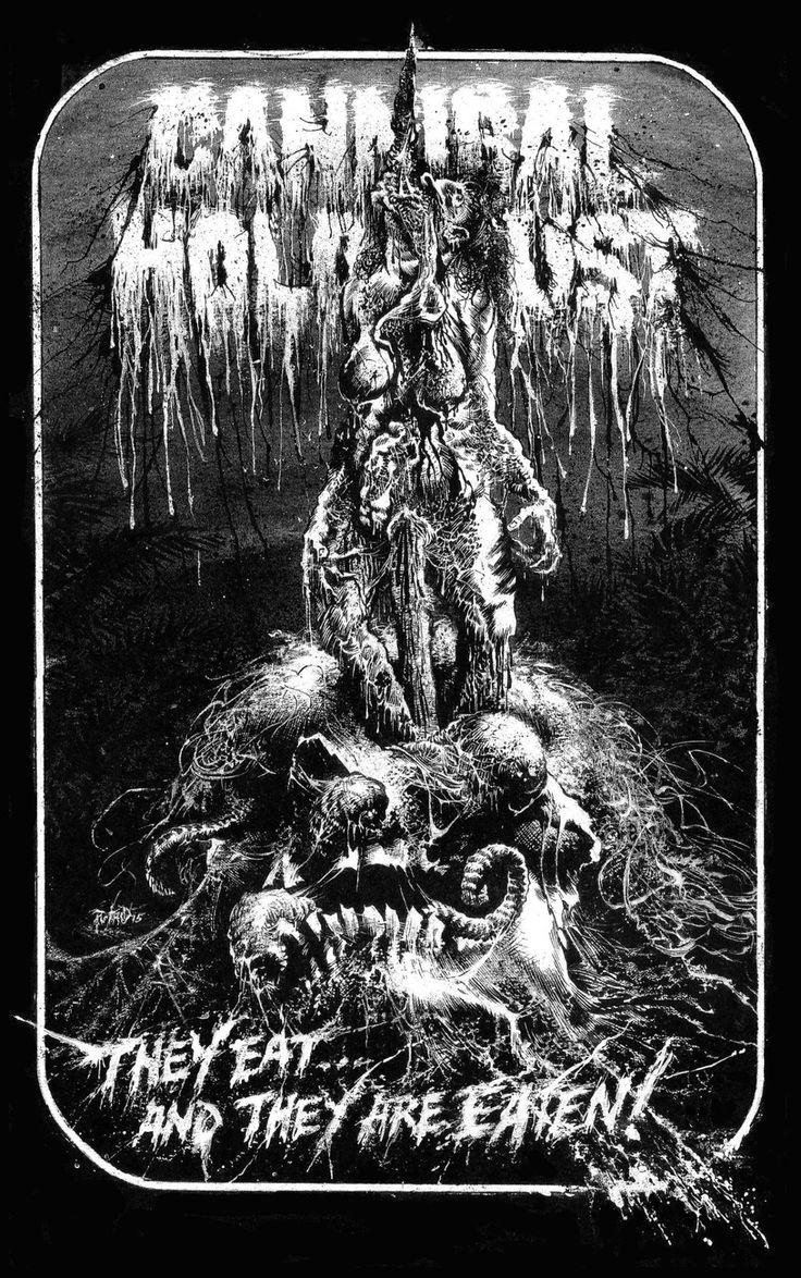 "redskullsmadhouse: ""Cannibal Holocaust by Putrid Matt """