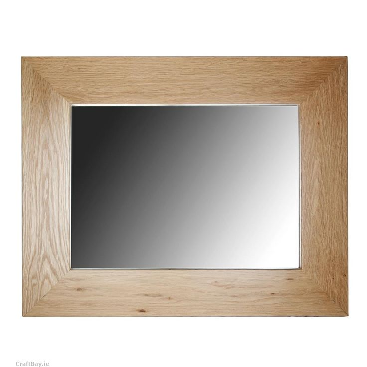 Product Description  Adkot Board- Oak framed mirror   Small-765 X 615 X 20mm  Adkotmirrors are crafted with care to be enjoyed for a lifetime. These mirrors are made from solid oak. The joints are mitred on the corners which allows the mirrors to be hung on there side or end. They are the perfect gift and are fit for any occasion.     Delivery  - Unless especially specified I will ship your item 1 - 3 days after payment is made.   Shipping to Ireland € 8.00  Shipping to EU € 28.00  Shipping…