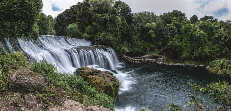 Maraetotara Falls, Havelock North | New Zealand (by Bevan Whittleston)