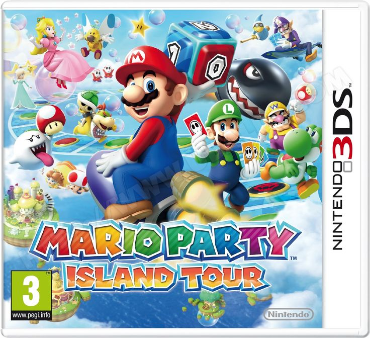 Jeu 3DS NINTENDO Mario Party Island Tour 3DS got at the e shop