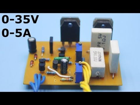HOW TO MAKE A VARIABLE POWER SUPPLY ( VOLTAGE AND CURRENT CONTROL