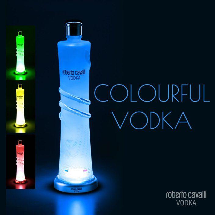 Roberto Cavalli Vodka, Colourful Vodka