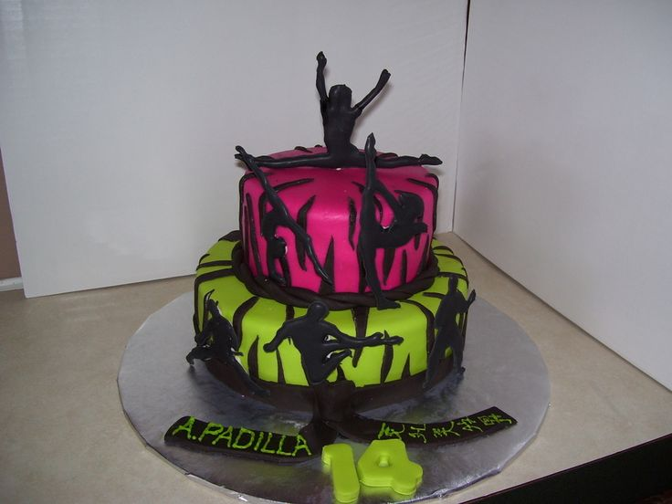 Karate/gymnastics Cake on Cake Central