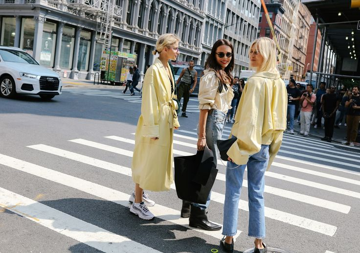 The Best Street Style From New York Fashion Week Spring 18 Projetos