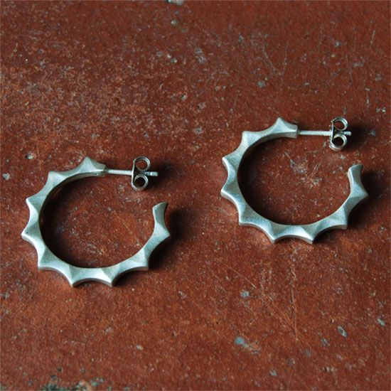 Hoop Earring - Sterling Silver Shop OnLIne ! #gifts #hoop #earrings