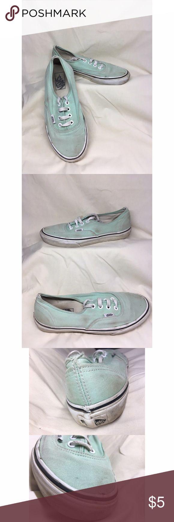 Mint Vans Extremely worn old pair of vans. Vans Shoes Sneakers