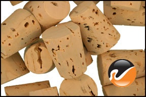 "Size 6 Cork Stoppers - Standard  Part #: 6-R06-XXX-CS  	  Price  1 – 99	$0.30 each  Features & Specifications  Top Diameter: 3/4"" (.750"" or 19mm)  Bottom Diameter: 37/64"" (.578"" or 15mm)  Length: 15/16"" (.938"" or 24mm)      Description  Size 6 Corks Stoppers are tapered Cork Stoppers that will plug bottles, lab vials. etc. Made from 100% natural cork. #6 Corks Stoppers are manufactured to exacting standards to provide a secure fit every time."