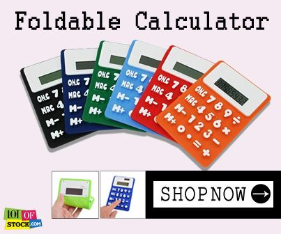 "Foldable Calculators...Its Everywhere You Wanna Be...Visit ""http://goo.gl/FpTLPc""...."