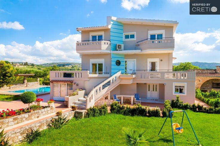 Comfortable villa with view to the sierra of White Mountains, Krionerida | Cretico