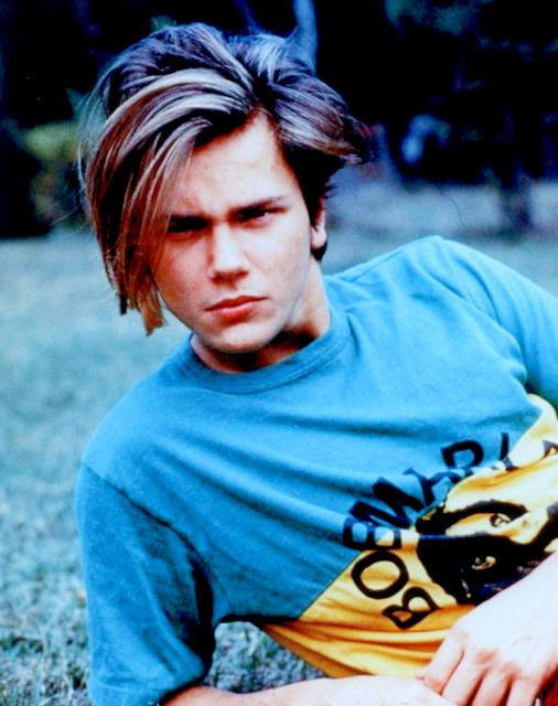 River Phoenix. He was good looking in Stand By Me... Not so much when he was older