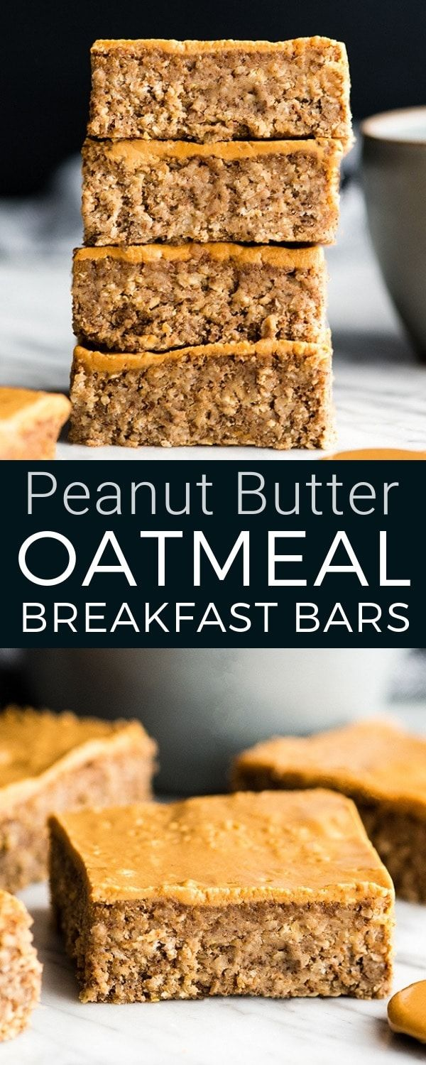These are the BEST Healthy Breakfast Bars ever! I …