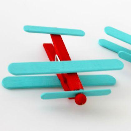 Aeroplane Art And Craft For Preschool