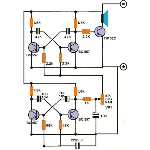 Cricket Chirping Generator Circuit Diagram - WIRING CENTER •