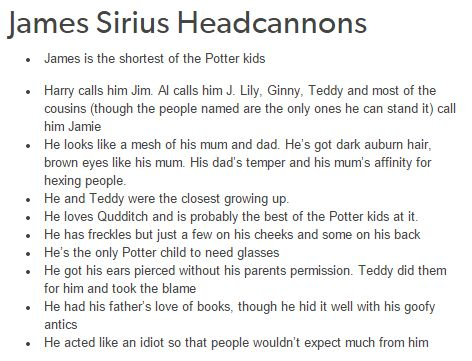 James Sirius - hp next gen