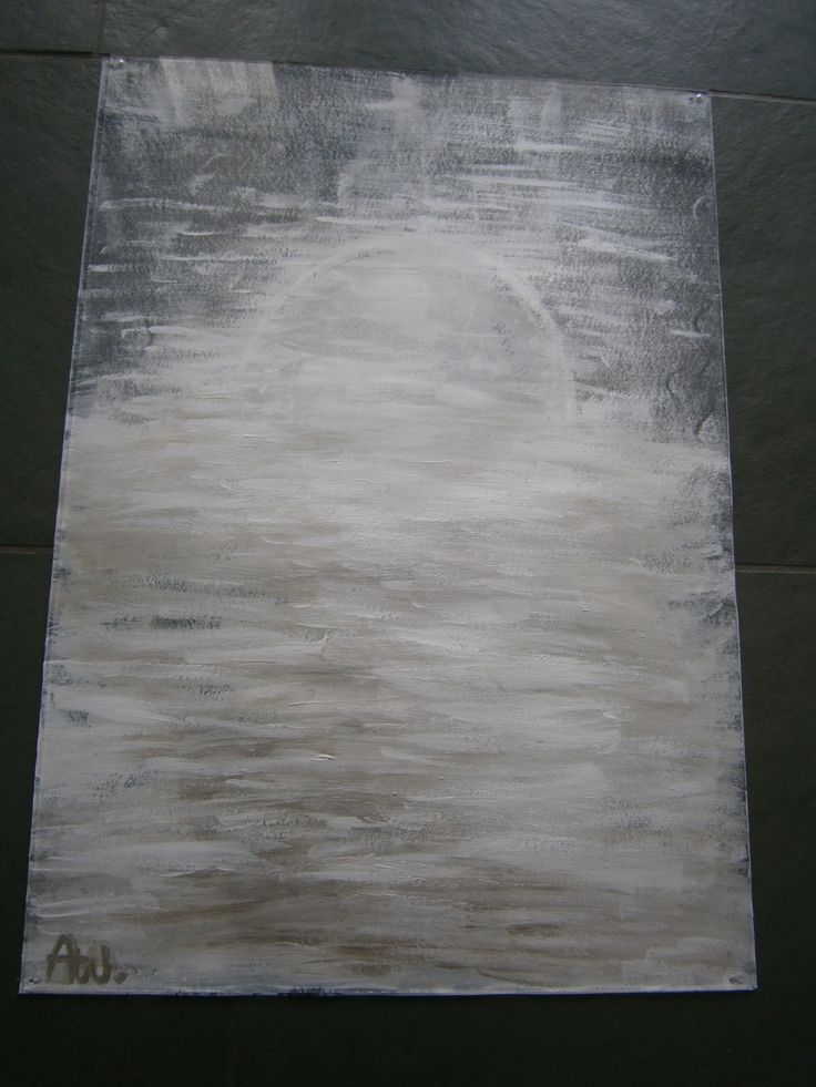Abstract Painting ..Sundawn...Home made....