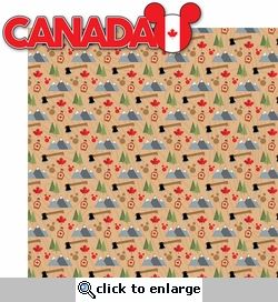 World Showcase: Canada 2 Piece Laser Die Cut Kit... OR print a Flag of the country and Punch a Mickey out yourself.